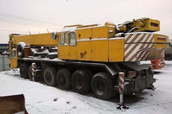 Автокран LIEBHERR LT 1080